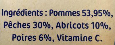 Corbeille de Fruits 6M - Ingrédients - fr