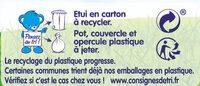 NESTLE NATURNES Compotes Bébé Pommes Abricots -4x130g -Dès 4/6 mois - Istruzioni per il riciclaggio e/o informazioni sull'imballaggio - fr