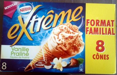 Extrême vanille praliné - Produit