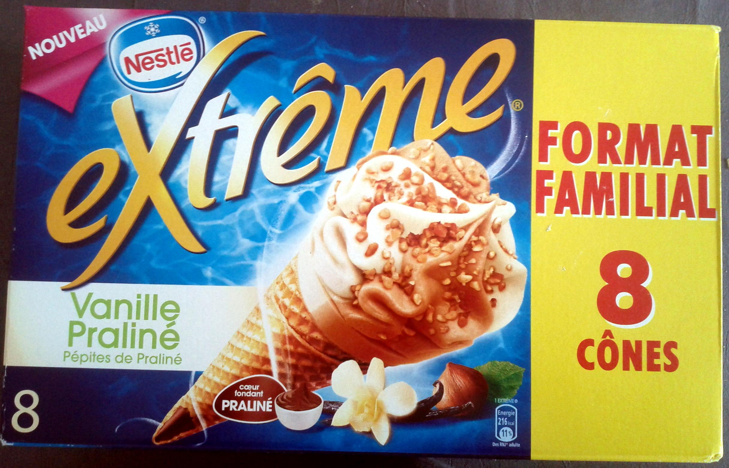 Extrême vanille praliné - Produit - fr