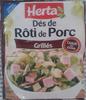 Dés de Rôti de Porc, Grillés - Product