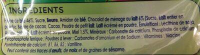 P'tit Biscuit pépites de Chocolat - Ingrediënten