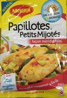 Papillotes Petits Mijotés façon méridionale - Produit