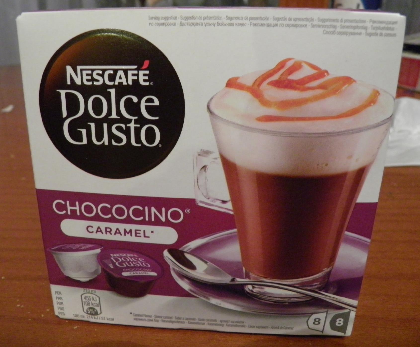 Nescafé Dolce Gusto Chococino Caramel - Product - fr