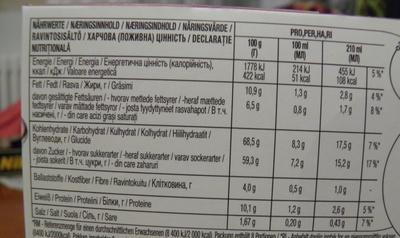 Nescafé Dolce Gusto Chococino Caramel - Nutrition facts - fr
