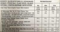 Dolce Gusto Chococino Caramel - Voedingswaarden - fr