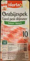 Lard Petit Déjeuner - Product - fr