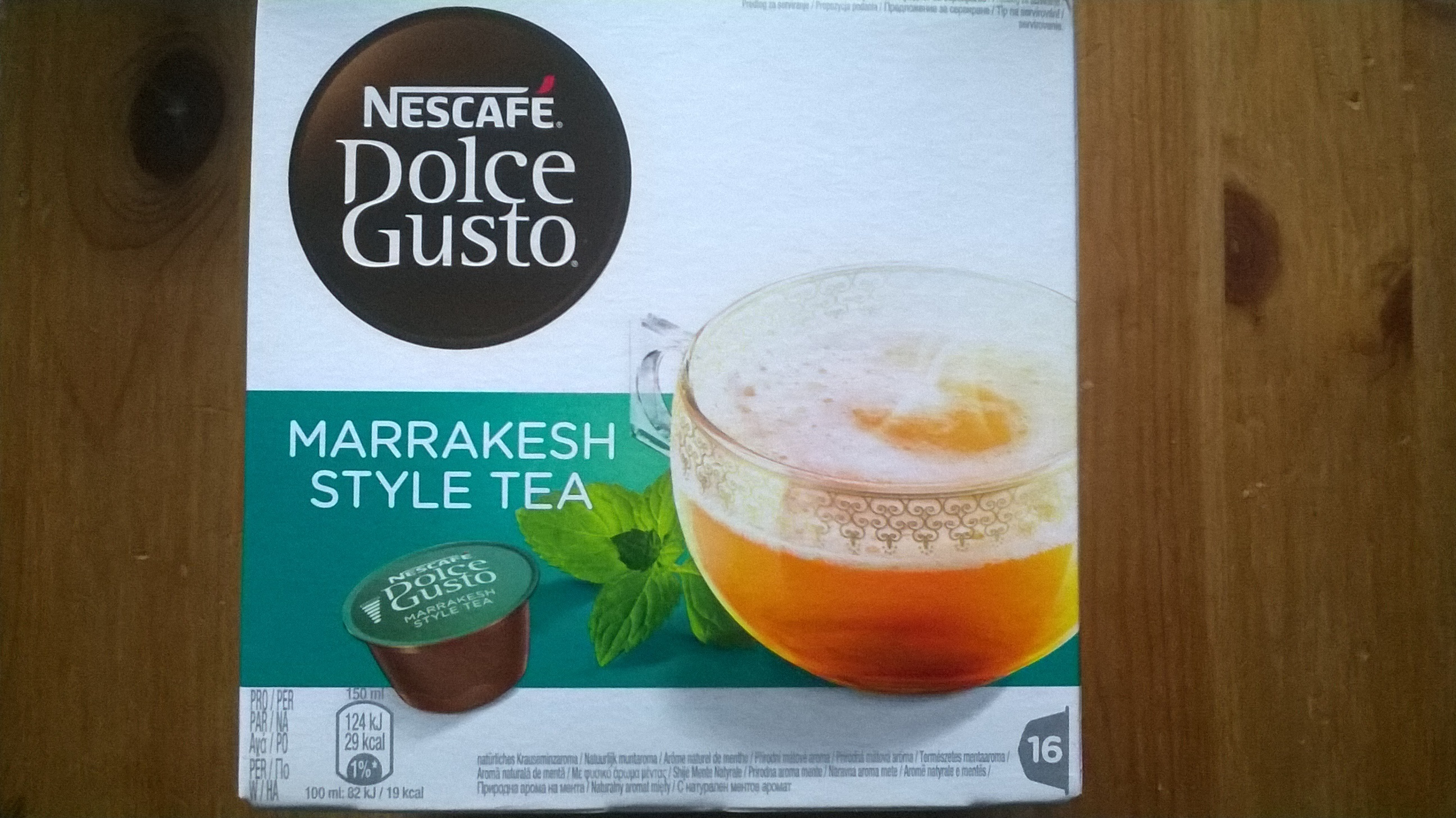 The chaud dolce gusto - Product