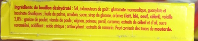 Bouillon de Volaille Halal - Ingrédients