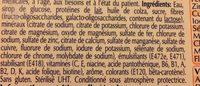 Clinutren Ebergy Fibre saveur abricot - Ingrédients - fr