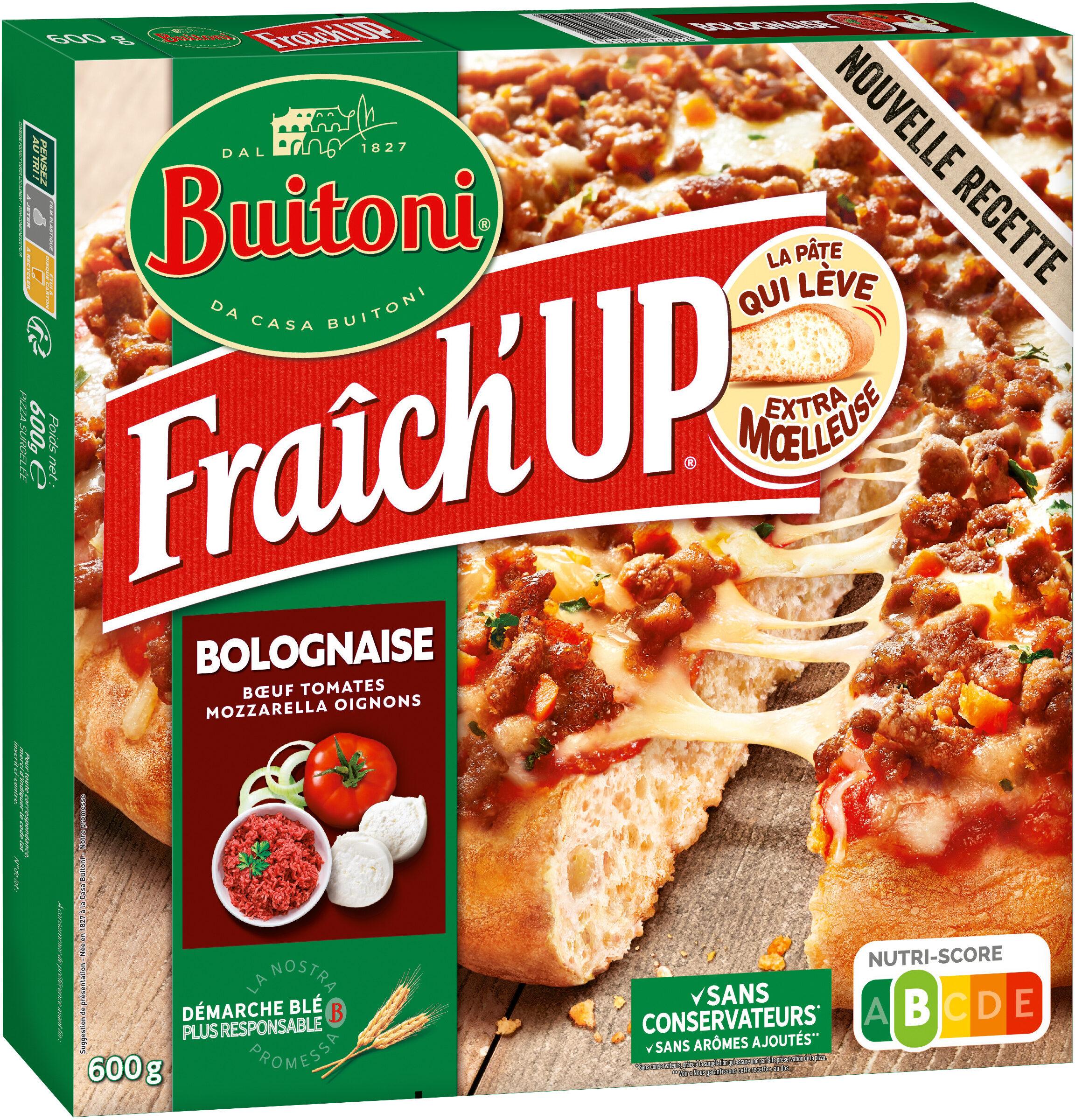 BUITONI FRAICH'UP pizza surgelée Bolognaise - Product - fr