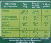 Fraîch'Up Bolognaise - Informations nutritionnelles - fr