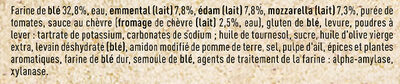 FRAICH'UP 4 Fromages - Ingrédients - fr