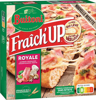 BUITONI FRAICH'UP pizza surgelée Royale - Produit - fr