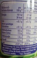 Aprikosen natursüß - Informations nutritionnelles