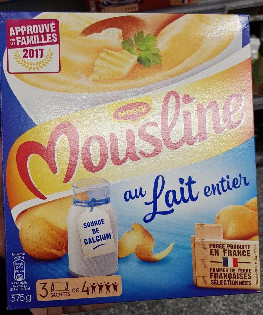 Mousline au lait entier - Produit