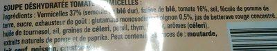 Bouillon Tomates Vermicelles - Ingrediënten - fr
