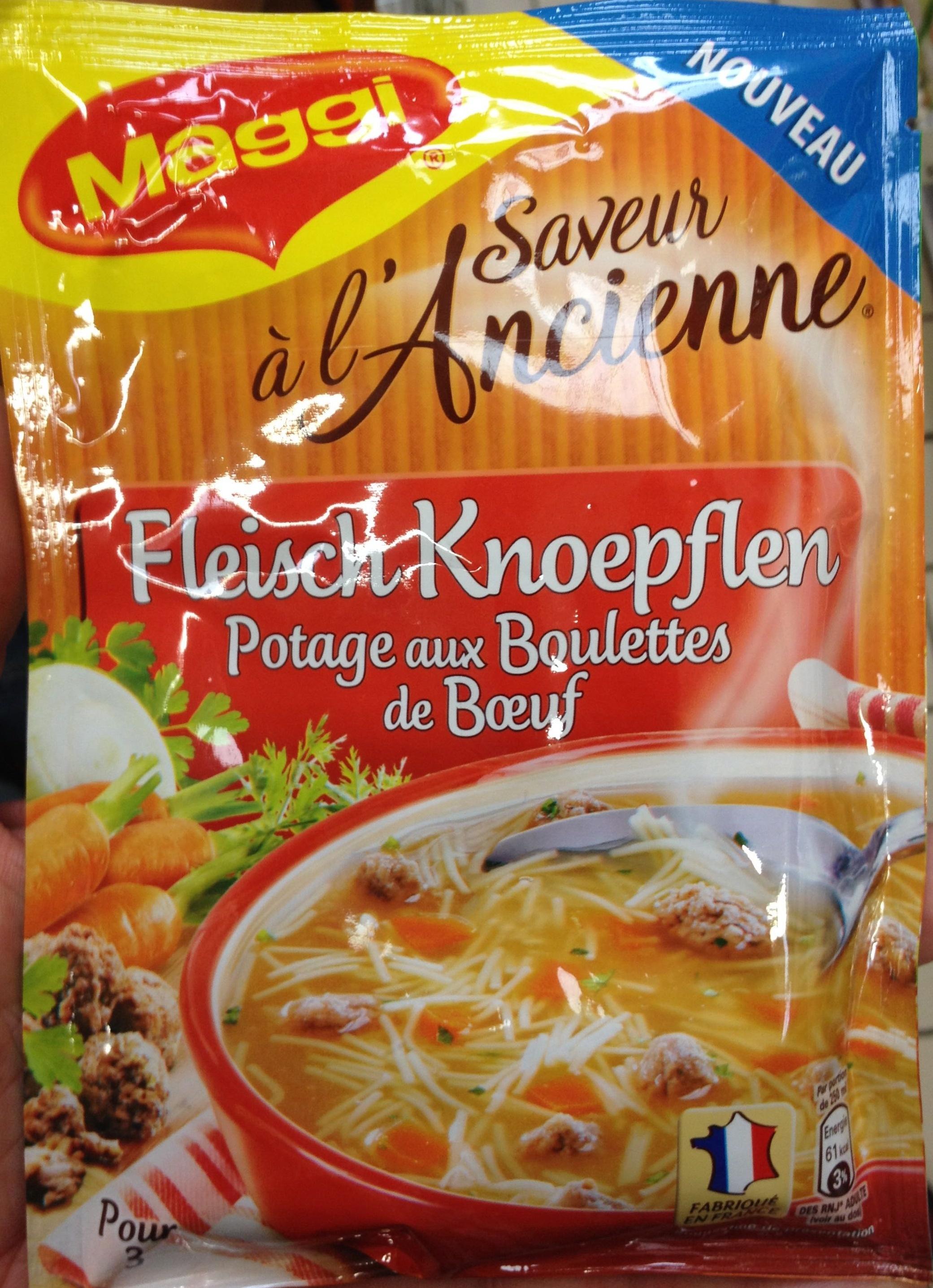 Fleisch Knoepflen - Produit