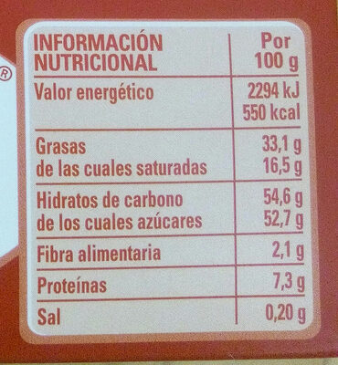 Nestle Caja Roja Bolsa Bombones 100 GR - Nutrition facts