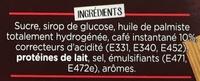 Nescafé 3 en 1 goût Café au Lait sucré - Ingredients