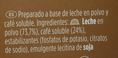 cafe con leche - Ingredients