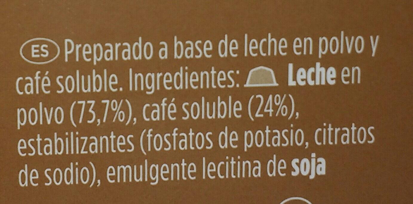 Café con leche - Ingredients - es