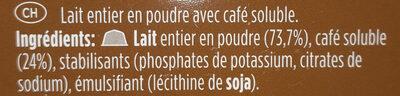 CAFÉ CON LECHE - Ingrédients - fr