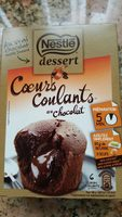 Coeurs coulants au chocolat - Product