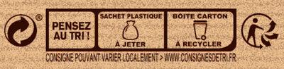 NESTLE DESSERT Préparation pour Cœurs Coulants au Chocolat - Instruction de recyclage et/ou informations d'emballage - fr