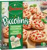 BUITONI PICCOLINIS mini-pizzas surgelées Tomate Mozzarella 270g (9 pièces) - Produto