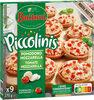 BUITONI PICCOLINIS mini-pizzas surgelées Tomate Mozzarella 9x30g ( - Produto