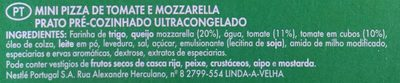 Piccolinis Pomodoro Mozzarella - Ingredients
