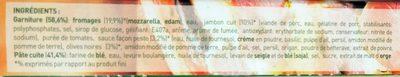 Buitoni Four à Pierre Royale - Ingredients