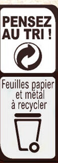 NESTLE L'ATELIER Chocolat Noir, Cranberries, Amandes - Recycling instructions and/or packaging information - fr