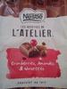 Chocolat Cranberries, Amandes et Noisettes - Product