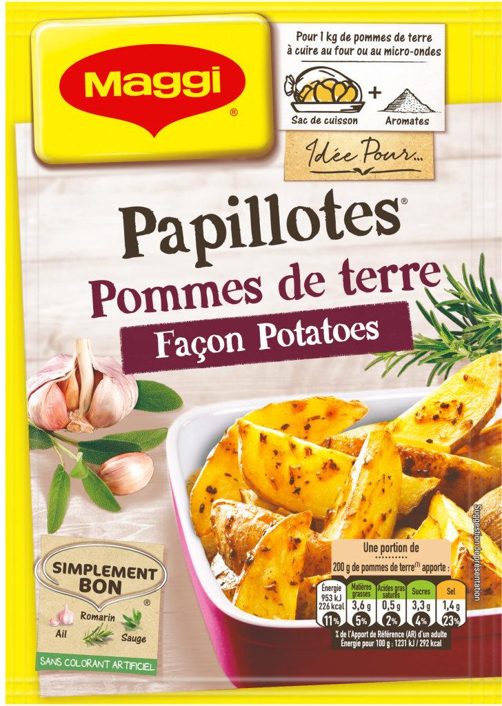 Papillotes Pomme de terre façon Potatoes - Product - fr