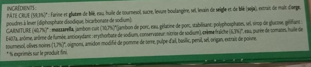 Fraich'Up So Creamy Reine Blanche - Ingrédients - fr