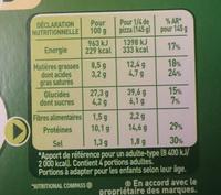 Fraich'Up So Creamy Reine Blanche - Informations nutritionnelles - fr