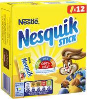 NESQUIK Poudre cacaotée 12 sticks de - Prodotto - fr