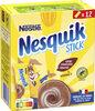 NESQUIK Poudre cacaotée 12 sticks de - Produto