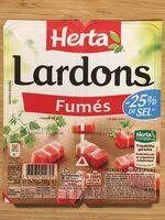 Lardons fumés (-25 % de sel) - Prodotto - fr