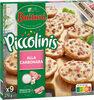 BUITONI PICCOLINIS mini-pizzas surgelées Alla Carbonara 9x30g ( - Product