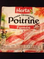Fines Tranches, Poitrine Fumée (2 x 7 Tranches Fines) - Produit - fr