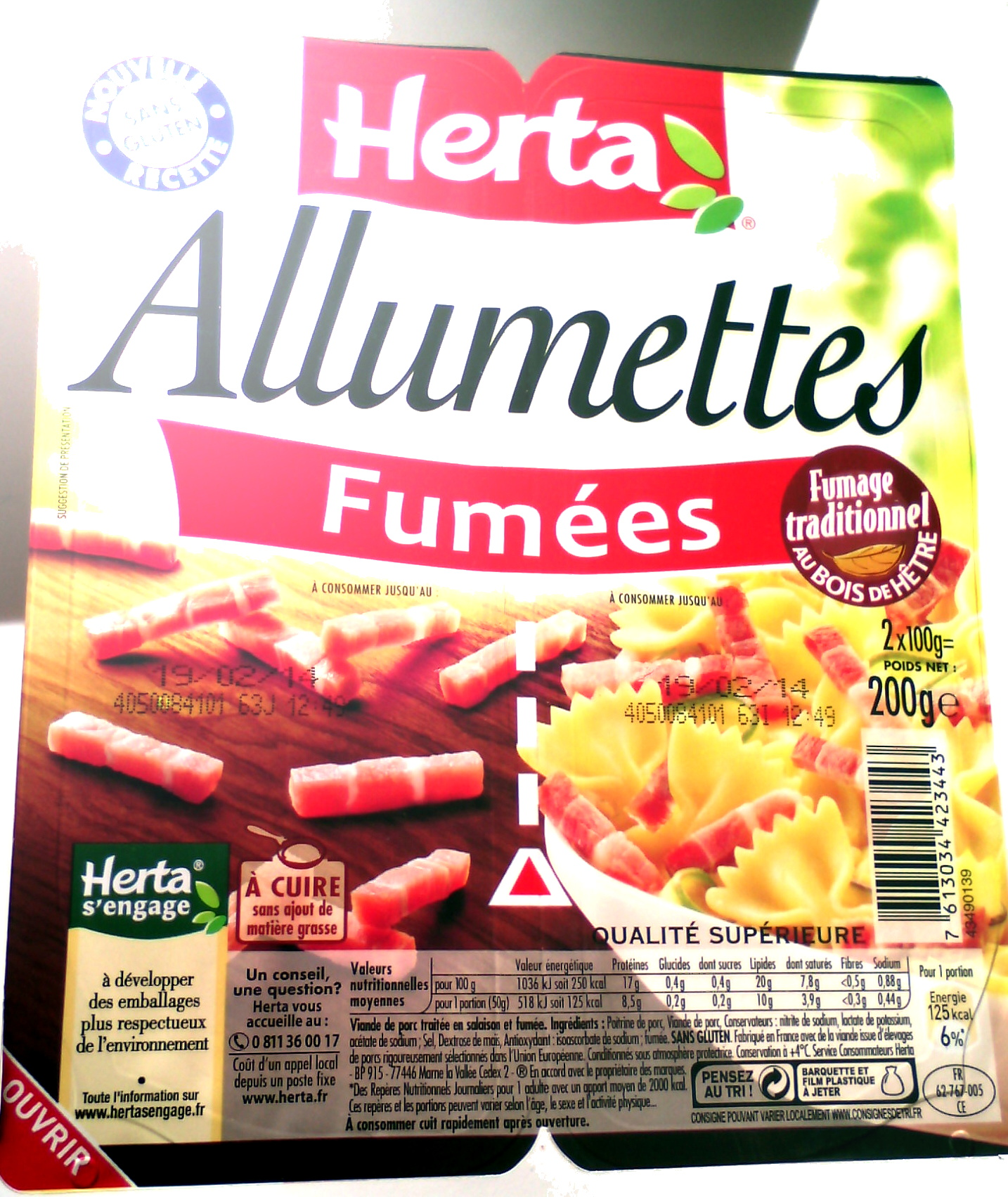 Allumettes, Fumées - Produit