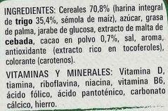 Estrellitas saveur Galleta Maria - Ingredients