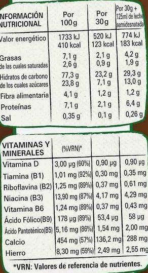 Estrellitas saveur Galleta Maria - Informations nutritionnelles - fr