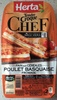Tendre Croque Chef - Pain aux céréales Poulet basquaise Fromage - Produit