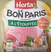 Le Bon Paris, à l'étouffée au Bouillon de Légumes - Produit