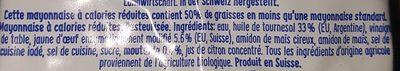 Bio Mayo - Ingrédients - fr
