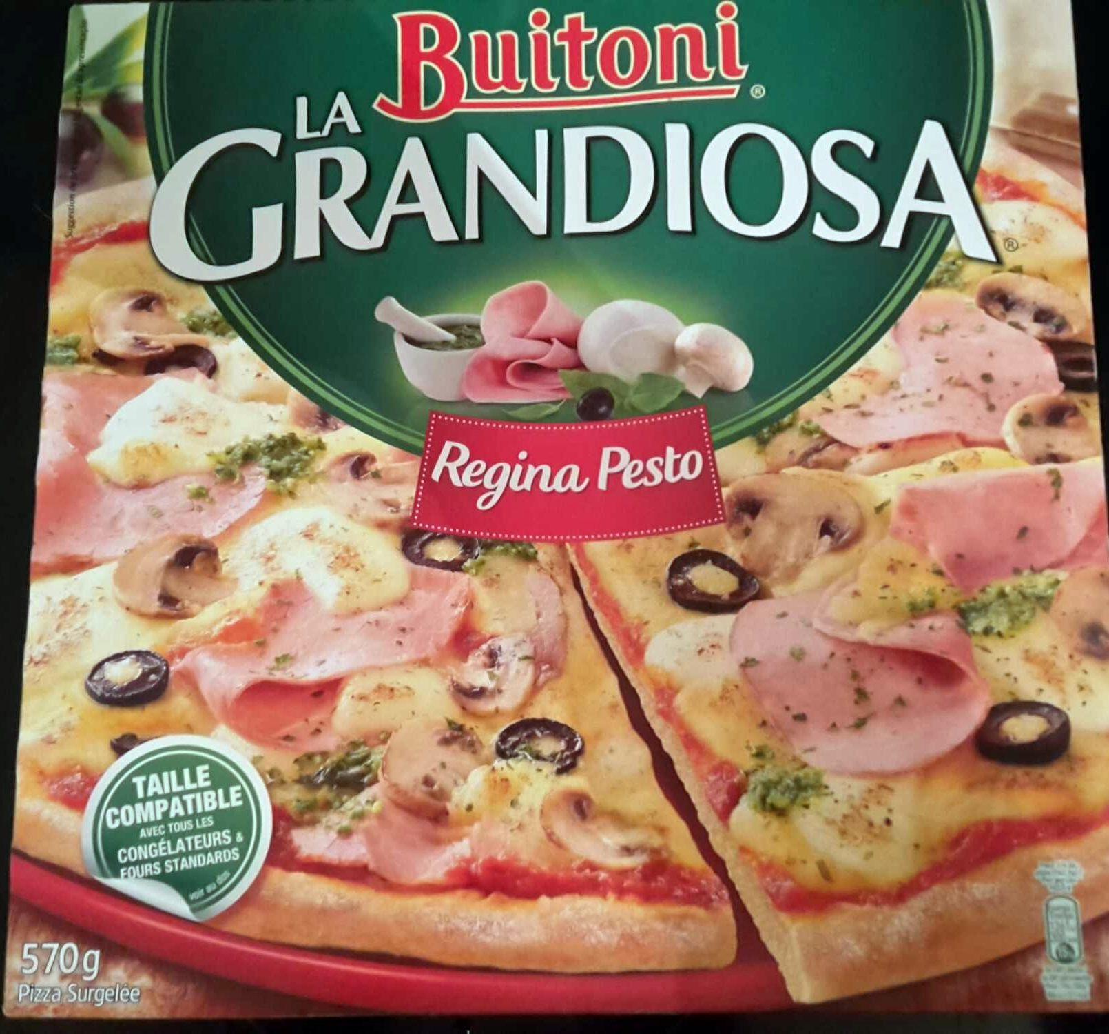 Pizza La Grandiosa - Regina pesto - Produit